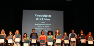 Kent Washington Events: Four Local Organizations Honor 33 Kent Students with Scholarships Totaling More Than $46,000