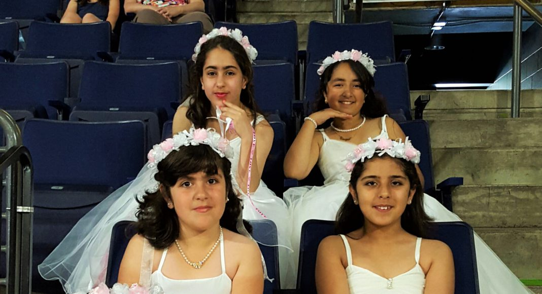 Kent Events: These lovely young ladies represented the Iraqi Women Association at this year's Kent International Festival
