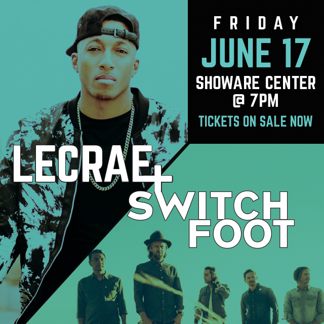 Things To Do in Kent: The Heartland Tour: Lecrae and Switchfoot
