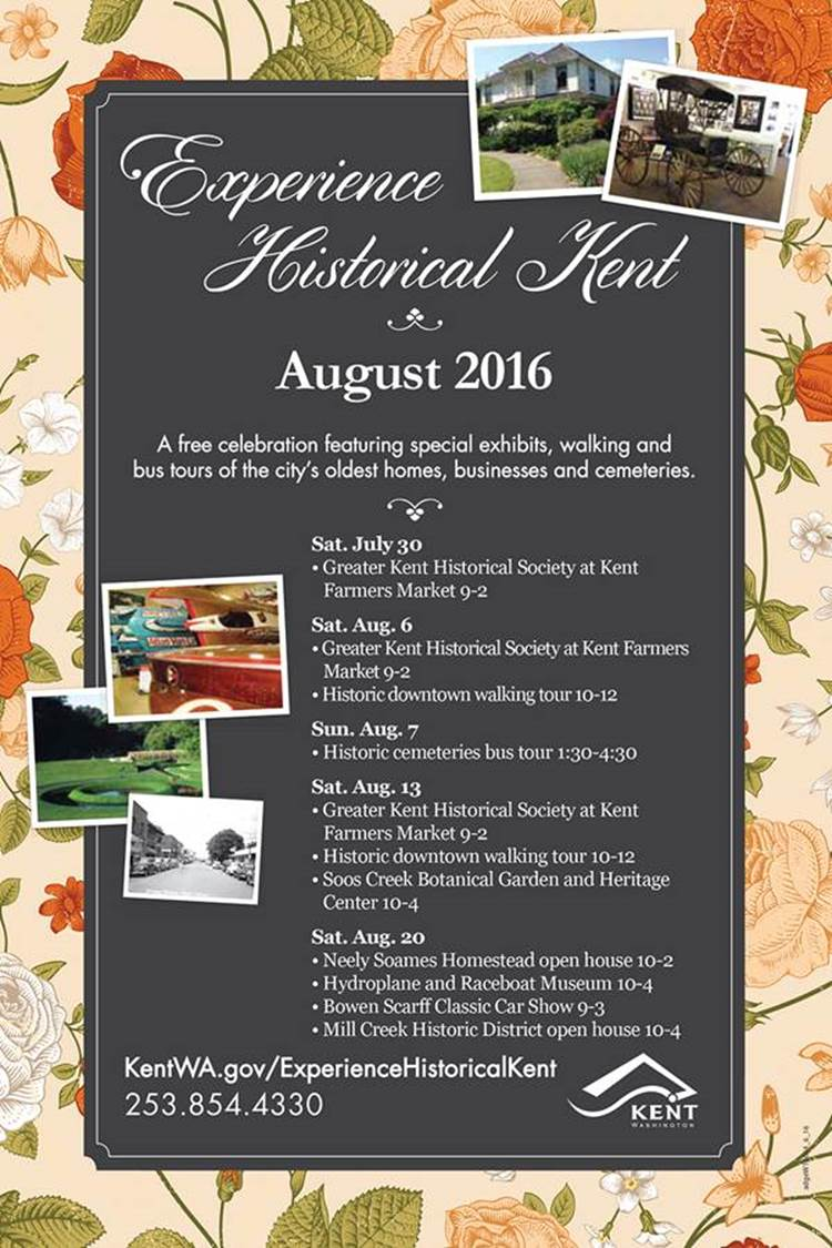 Things to do in Kent: Experience Historical Kent this August to learn about Kent history.