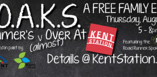 Free Family Fun in Kent: S.O.A.K.S. at Kent Staiton on Aug. 18