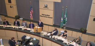 Dow Constantine presents the 2017-18 biennial budget to King County Council.
