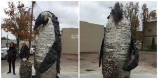 Kent Art: Father and Son Penguin are the latest addition to downtown Kent's eclectic mix of public art.