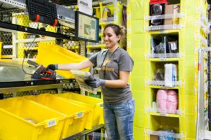 The Kent, Washington fulfillment center contributed to Amazon's 2016 holiday success.