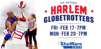 Kent Event: Harlem Globetrotters come to Kent Feb. 17 & 20, 2017