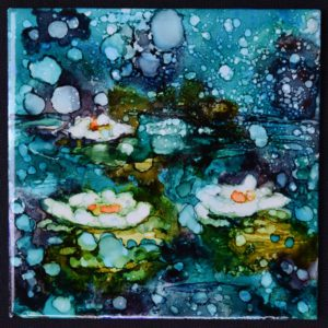 Water Lilies by Alice Kares