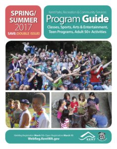 Kent Parks & Rec Guide: Spring & Summer 2017 Events
