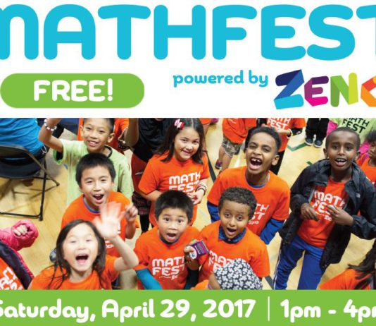 Kent Event: Free Mathfest Event comes to Kent April 29, 2017