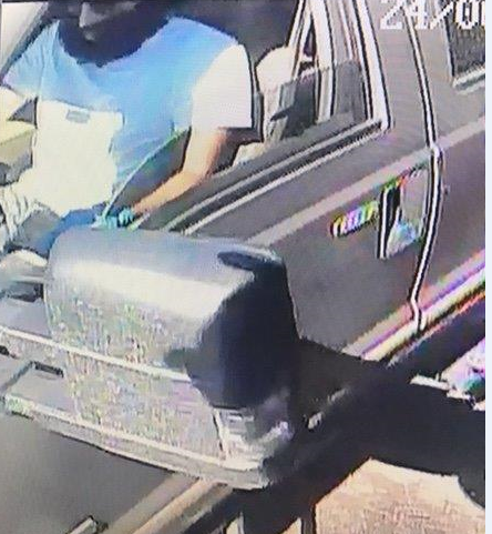 Suspect vehicle in espresso stand robbery in Kent, Washington