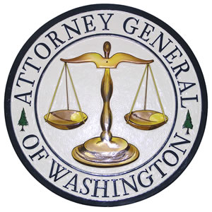 Seal of the Washington Attorney General