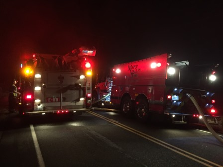 Kent News: An early morning house fire displaces four Kent residents.