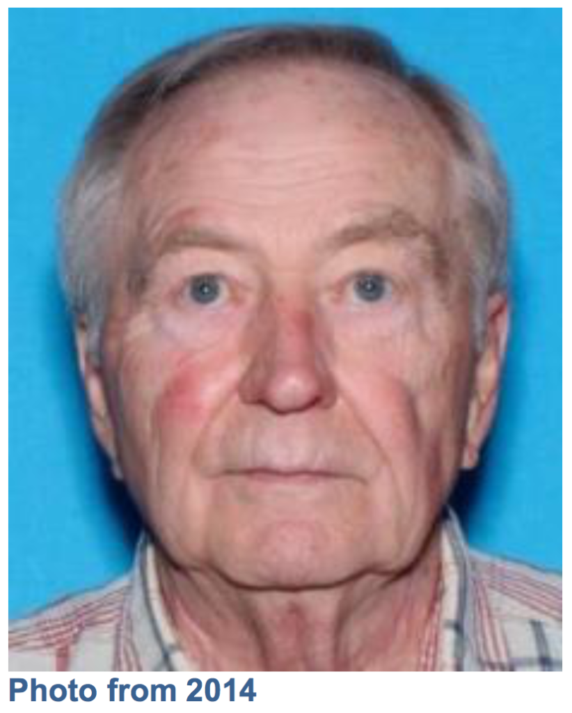 UPDATE: Missing 80-year Old Man From Renton Area Has Been