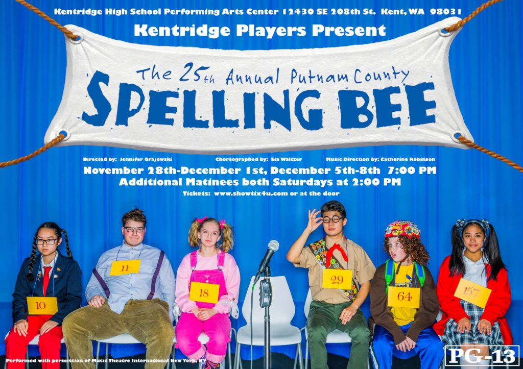 Kentridge Players' '25th Annual Putnam County Spelling Bee