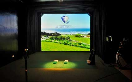 Best Western Plus Plaza by the Green Adds HD Golf Simulator with 20 Championship Courses