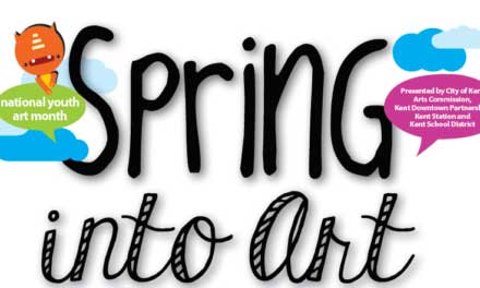 Spring Into Art with Kent Student Art Walk