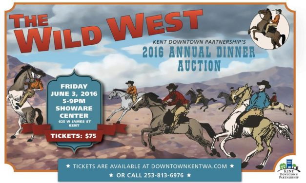 "Don't Miss ""The Wild West,"" KDP's Annual Dinner Auction: June 3"