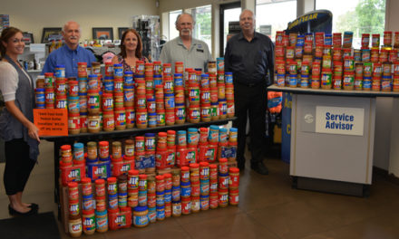Bowen-Scarff Collecting Peanut Butter May 14-21