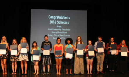 Four Local Organizations Award 33 Kent Students with Scholarships Totaling More Than $46,000