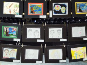 Things To Do in Kent: Kent Community Foundation hosts an art exhibit each year at the Kent International Festival