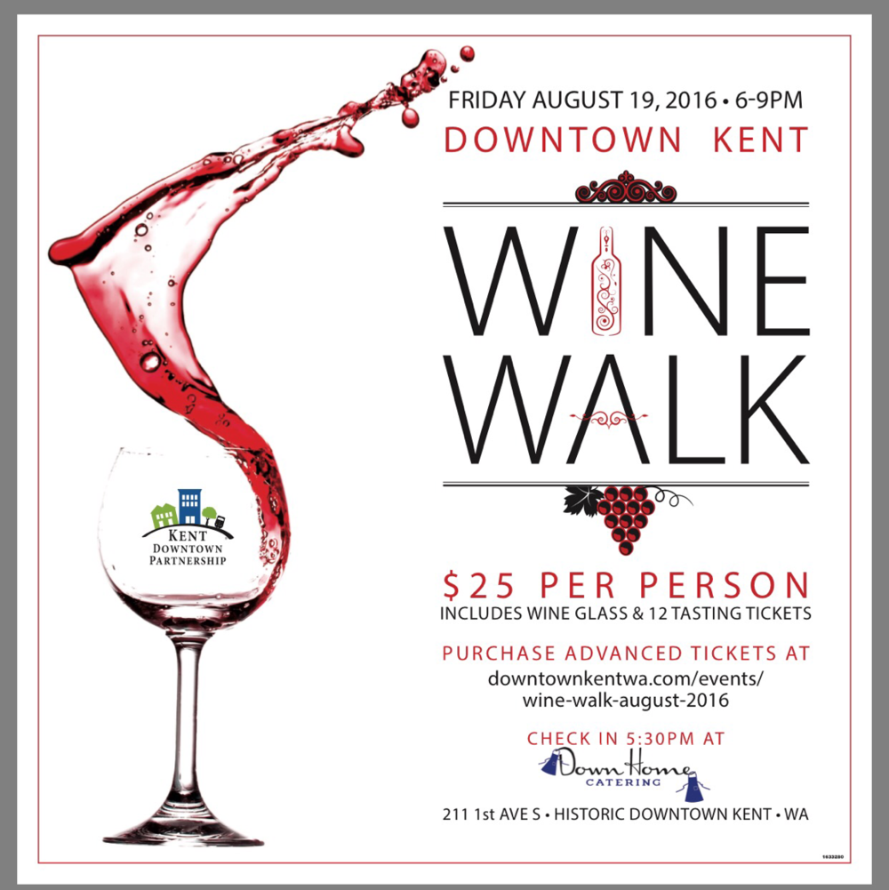 Things To Do in Kent: Wine Walk, Aug. 19, hosted by Kent Downtown Partnership