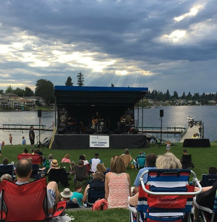 Things to Do in Kent: Free Summer Concerts at Lake Meridian