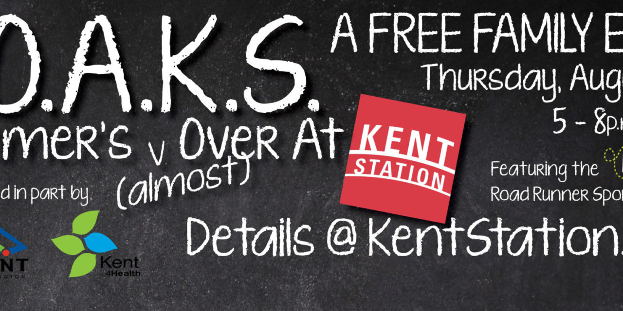 Free Family Fun at Kent Station: S.O.A.K.S., Aug. 18