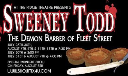 'Sweeney Todd' Comes to Kent, July 28 – Aug. 13