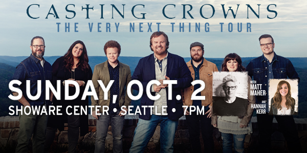 Win Tickets to See Casting Crowns at ShoWare on Oct. 2