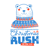 Kent Event: Christmas Rush Fun Run/Walk