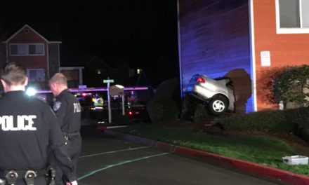 Kent Man Dies After Car Crashes Into His Apartment