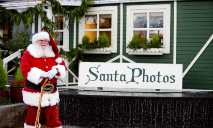 Santa Arrives at Kent Station on Sat., Nov. 26