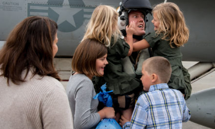 Kent Sailor United with Family in Japan after Routine Patrol