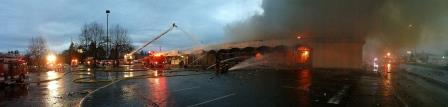 Kent News: 6 Businesses Were Damaged in a Three-Alarm Fire on Pacific Highway in Kent, Washington.