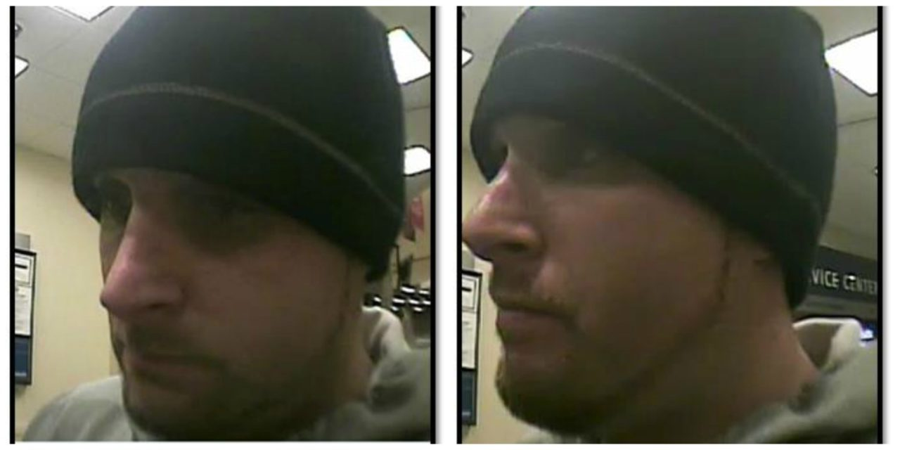 Kent Police Need Help Identifying Bank Robbery Suspect