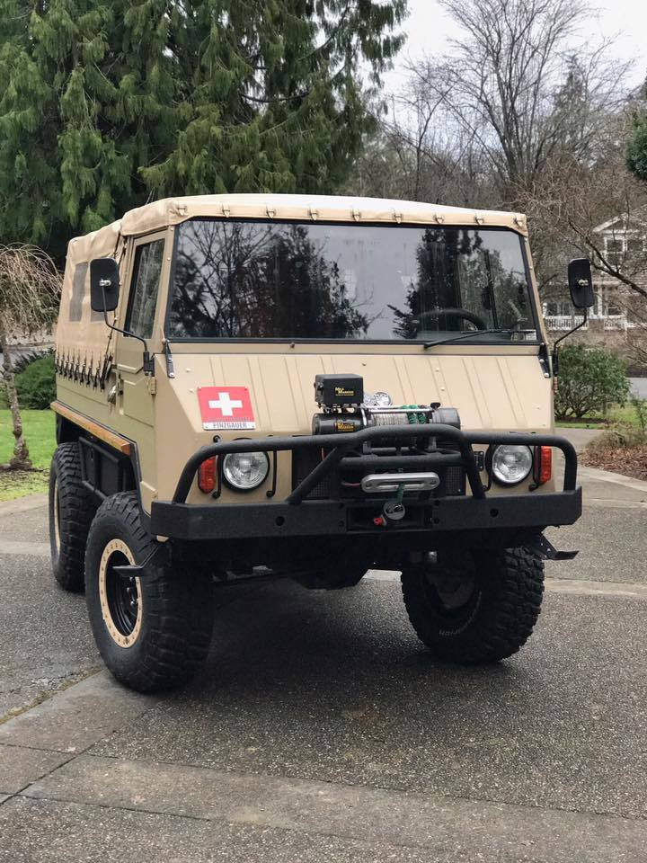 Search and Rescue Vehicle helps transport injured hiker.