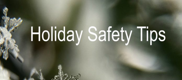 Holiday Safety Tips from the City of Kent, Washington