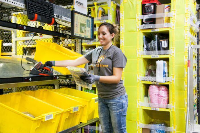 The Kent, Washington fulfillment center is hiring.