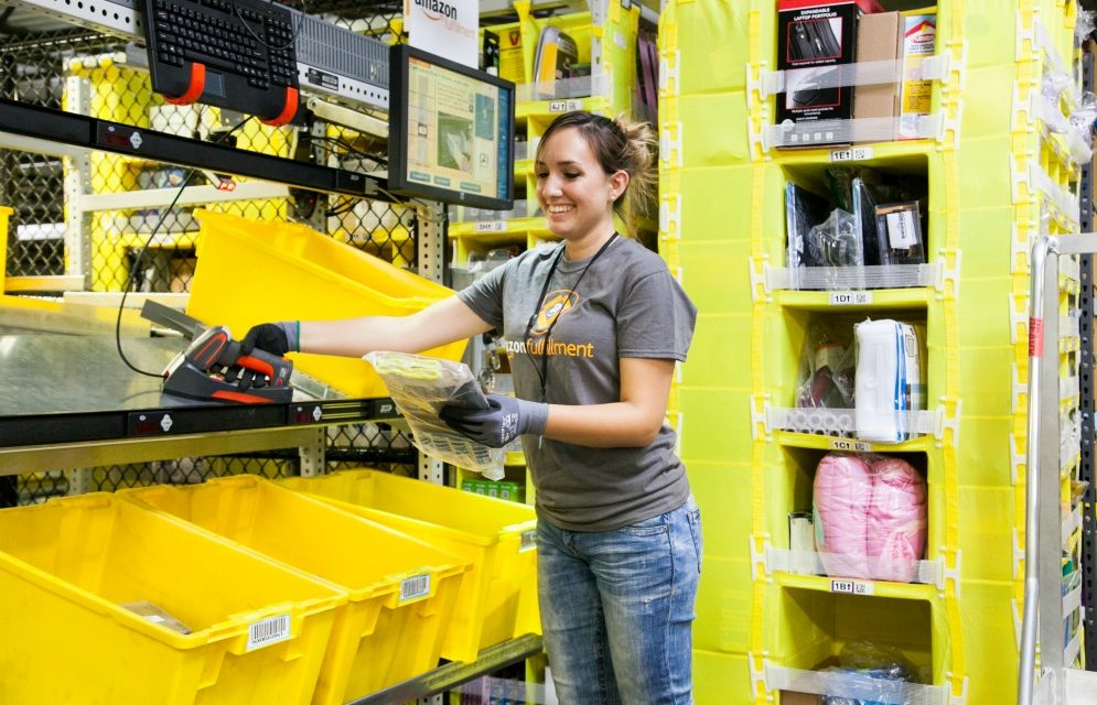 Amazon celebrates its biggest holiday season ever