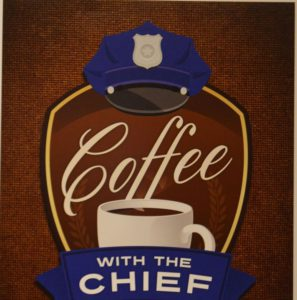 Kent Event: The next Coffee with the Chief is Wed., Aug. 9 at the Kent Community Foundation.