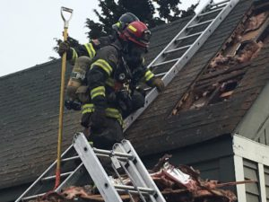 No Injuries in Kent Chimney Fire