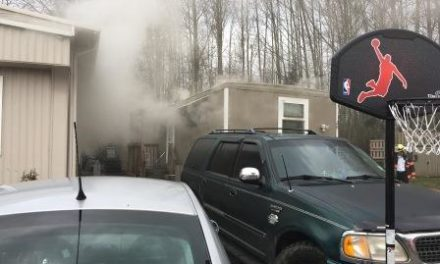 No Injuries in Kent Mobile Home Fire