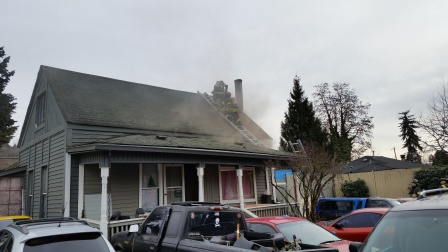 Family and Dogs Escape Kent Home Fire Saturday