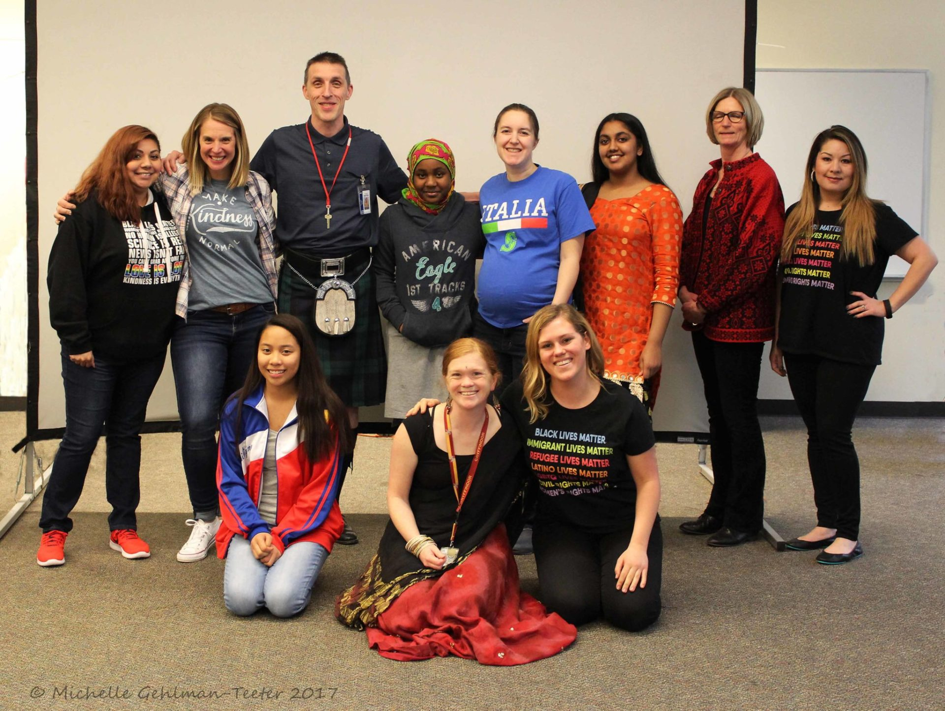 Mill Creek Middle School Hosts 'Share Your Culture' Day