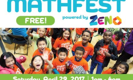Free Math Event for Kids Coming to Kent April 29, 2017