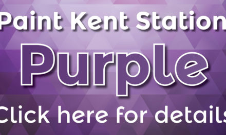 Fight Cancer: Paint Kent Station Purple in May