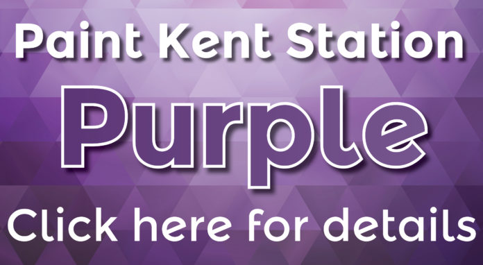 Paint Kent Station Purple in May to Raise Money for Relay for Life Kent.
