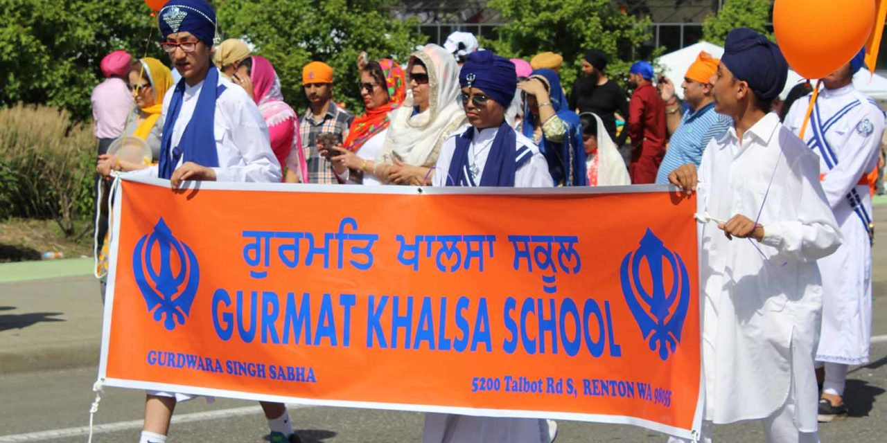 Kent's 10th Annual Khalsa Day Parade Was a Sea of Color