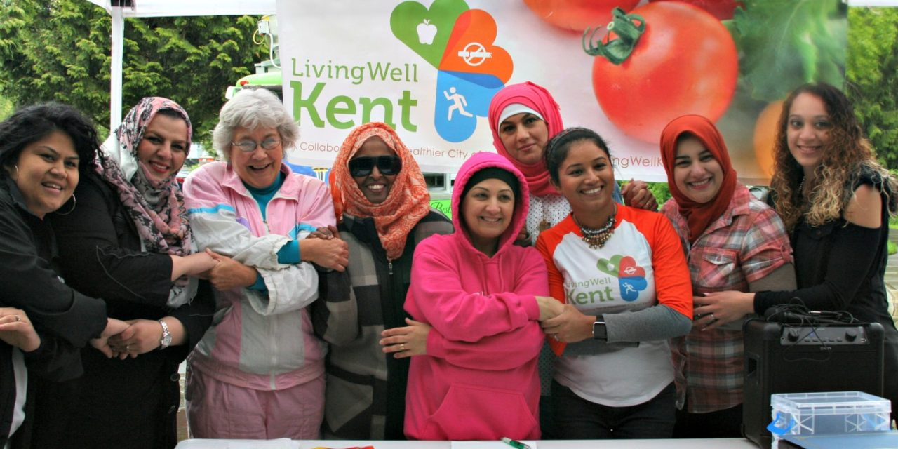 Living Well Kent Hosts First East Hill Community Bazaar & Farmer's Market