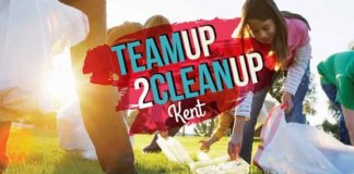 Kent Event: TeamUp2CleanUp Kent on Sat., May 13, 2017.