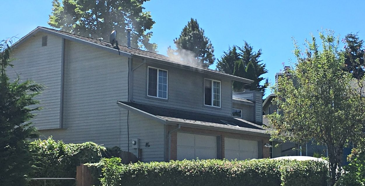Kitchen Fire Displaces Kent Family of Five